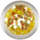 Medovo zlaté konfety - šesťhrany aquaelements