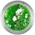 Svetlozelené konfety - šesťhrany aquaelements