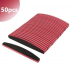 50ks - Pilník oblúk s červeným stredom, 100/180