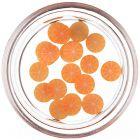 Narezaný pomaranč na zdobenie nechtov