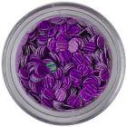 Flitre - fialové, tmavofialové pásiky