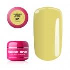 UV Gel na nechty Base One Pastel - Yellow 01, 5g