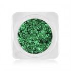 Ozdoby na nechty – kolieska v metalickej farbe - zelená