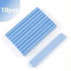 10ks - Penový pilník na nechty, modrý 150/180