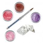 Sada Shimmer II- sada farebných akrylových práškov