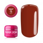 UV Gel na nechty Base One Color RED - Coffee Red 16, 5g