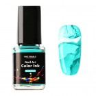 Nail art color Ink 12ml - Turquoise