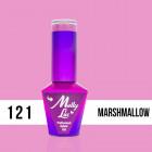 MOLLY LAC UV/LED Yoghurt - Marshmallow 121, 10ml