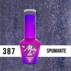 MOLLY LAC UV/LED gél lak Wedding Dream and Champagne  - Spumante 387, 10ml