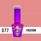 MOLLY LAC UV/LED Pin Up Girl - Freedom 377, 10ml
