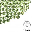 Ozdobné kamienky na nechty - 1,5mm - zelené, 50ks