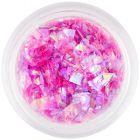 Šupinky na nechty ružovej farby