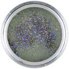 Sivý akrylový prášok na nechty 7g - Black Glitter