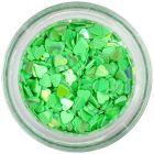 Nechtové ozdoby - zelené srdiečka