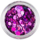 Ozdobný kvet - fialový, hologram