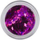 Fialové glitre do aqua tipov - diamanty, hologram