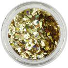 Zlaté flitre do aqua tipov - diamanty, hologram