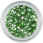 Svetlozelená nail art ozdoba - 3D diamant