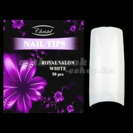 Royal Salon white 50ks - umelé nechty č. 10