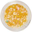 3D ozdoby – perleťovo žlté
