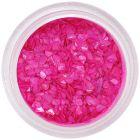 Nepravidelné úlomky - žiarivo ružové