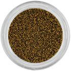 Ozdoby na nechty - 0,5mm perly, hrachovo zelené