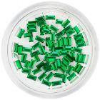 Ozdobné kamienky, obdĺžniky - smaragdovo zelené