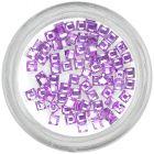 Kamienky štvorce - svetlofialové