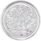 Perleťové slzičky na nechty - zahnuté, biele